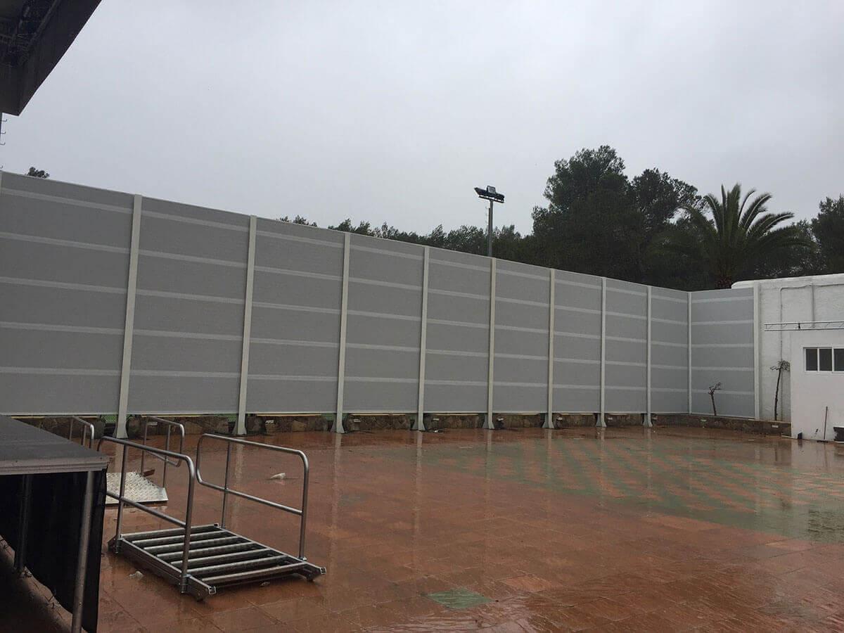 Instalación de Pantallas Acústicas en Ibiza