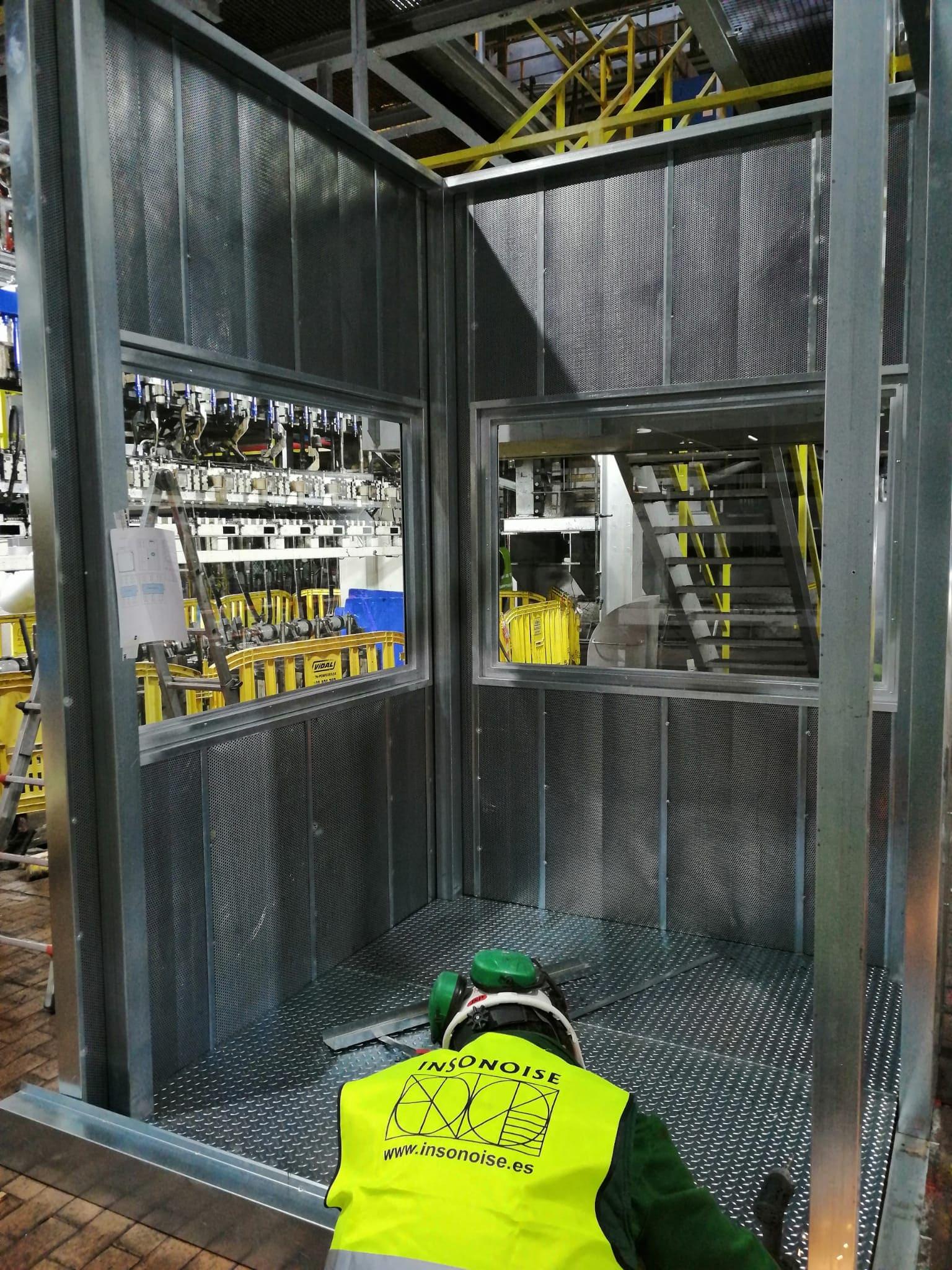 Instalación de Cabina Acústica en Portugal