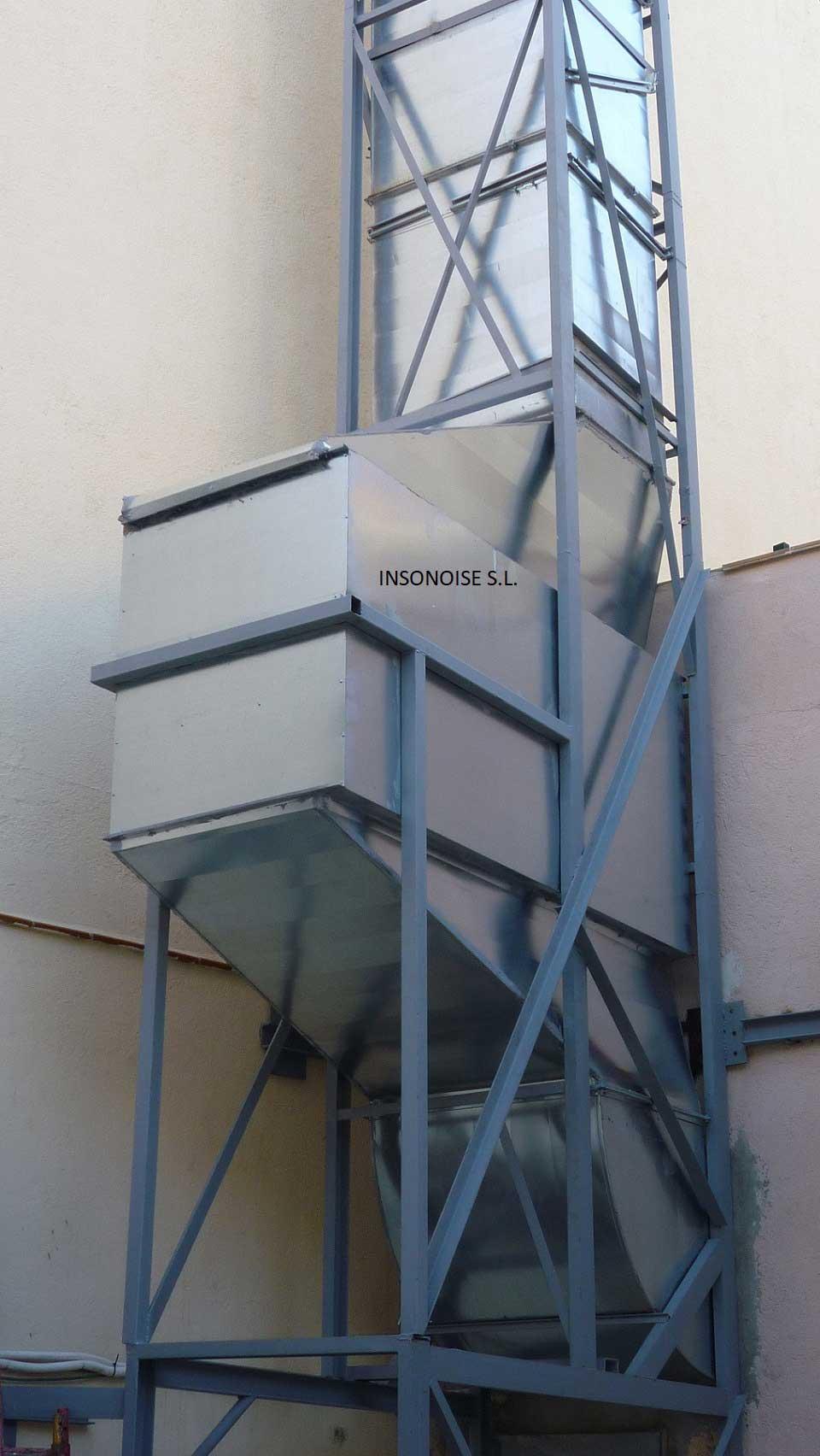 Instalación de silenciadores acústicos en Pozuelo de Alarcón