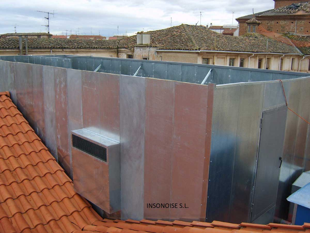 Instalación de silenciadores acústicos en La Rioja