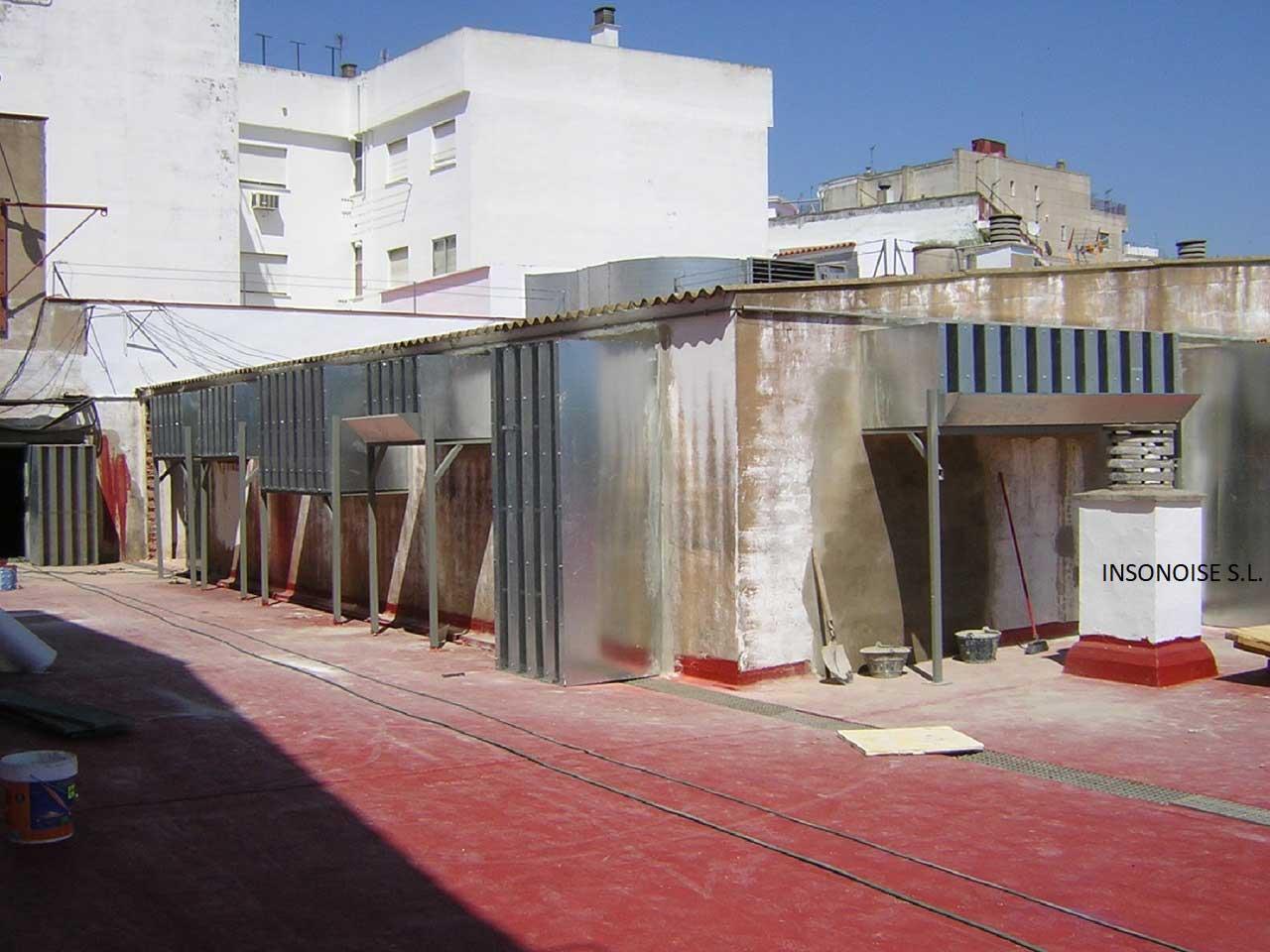Instalación de silenciadores acústicos en Huelva