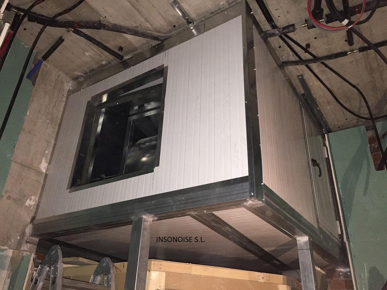 Instalación de cabinas insonorizadas en Gerona
